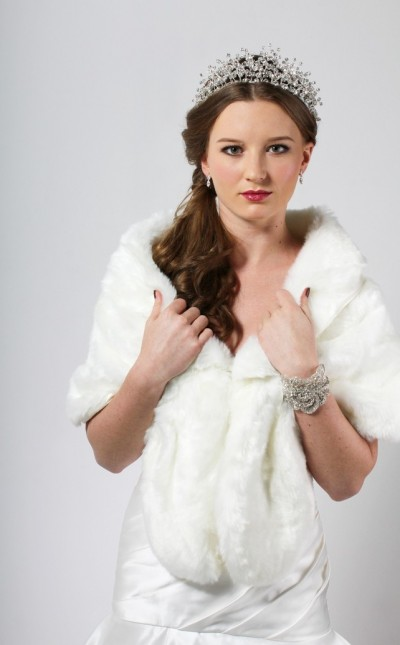 Soft Faux Fur Wrap