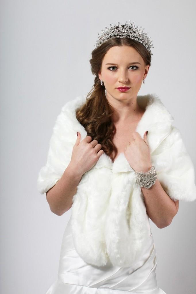 Soft Faux Fur Wrap