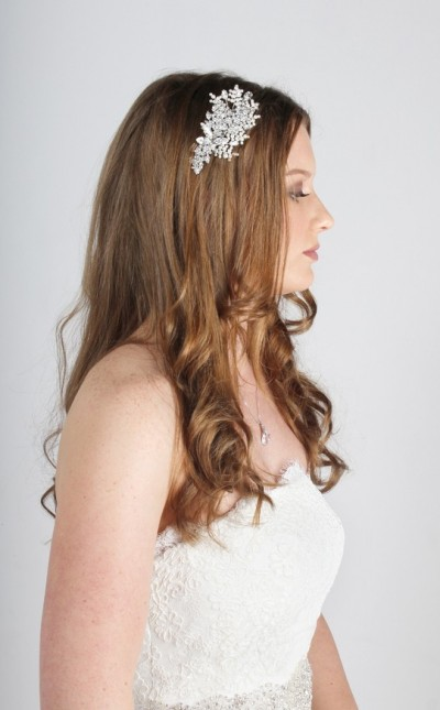 Pearl & Crystal Side Tiara